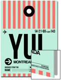 YUL Montreal Luggage Tag 2