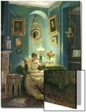 An Evening at Home  1888