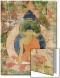Vie de Budha Acrylique