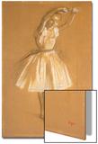 Little Dancer, 1875 Acrylique par Edgar Degas