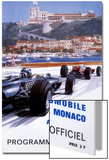 The Official Programme for the 24th Monaco Grand Prix  1966