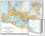 Map of the Roman Empire  2nd Century Ad