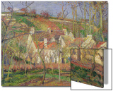 The Red Roofs  or Corner of a Village  Winter  1877