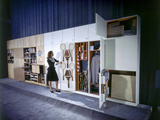 Specialized Closets Created by Architects George Nelson and Henry Wright  New York  NY 1945