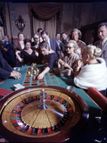 February 11  1957: Tourists Gambling at the Nacional Hotel in Havana  Cuba