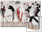 The Tango Acrylique par Georges Barbier