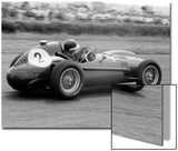 Mike Hawthorn in Ferrari  1958 British Grand Prix