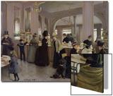 La Patisserie Gloppe  Champs Elysees  Paris  1889