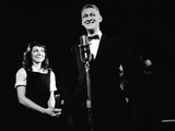 "Elaine May and Mike Nichols Appearing at the ""Blue Angel""  New York  NY  November 1957"