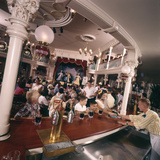 July 17 1955: Children's Saloon  the Golden Horseshoe Soft Drink Concessionaire  Disneyland  Ca
