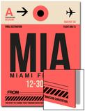 MIA Miami Luggage Tag 1