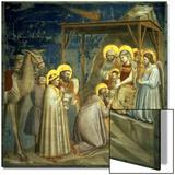 Adoration of the Magi  circa 1305