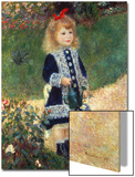 Girl with Watering Can, 1876 Acrylique par Pierre-Auguste Renoir