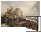 Conway Castle  circa 1802