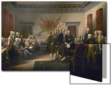 Signing the Declaration of Independence  July 4th  1776