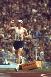Us Dave Wottle  Gold-Medalist 800 Meter Run at the 1972 Summer Olympic Games in Munich  Germany