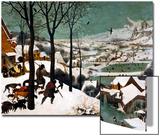 Hunters in the Snow (Winte), 1565 Acrylique par Pieter Bruegel The Elder