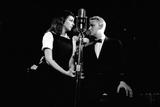"Elaine May and Mike Nichols Appearing at the ""Blue Angel""  New York  NY  November 1957"