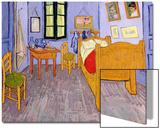 La chambre de Van Gogh à Arles, 1889 Acrylique par Vincent Van Gogh