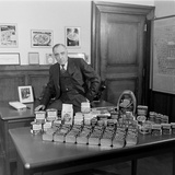 American Businessman and President of the Hormel Foods Corporation  Austin  Minnesota  1946