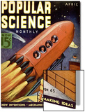Front Cover of Popular Science Magazine: April 1  1930