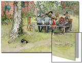 Breakfast under the Big Birch  from 'A Home' Series  C1895
