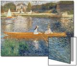 Boating on the Seine, c.1879 Acrylique par Pierre-Auguste Renoir