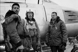 1950: F-86 Sabre Jet Pilots in Center Is Colonial John C Meyer