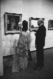 Patrons of the Los Angeles Museum of Art Opening Los Angeles  1965