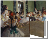 The Dance Class  c1875