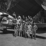 An 88th Flight Squadron Crew on the Ledo Road  Burma  1944
