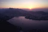July 1973: Sunset Panoramic View of Rio De Janeiro  Brazil
