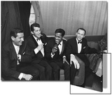 Sammy Davis Jr., Rat Pack - 1960 Acrylique par Moneta Sleet
