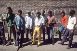 African American Men in Chicago Street Gang Devils Disciples  Chicago  IL  1968