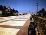 December 1946: Pathway to El Morro Castle in Havana  Cuba