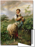 The Shepherdess  1866