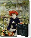 Deux soeurs, ou Sur la terrasse, 1881 Acrylique par Pierre-Auguste Renoir