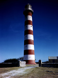 December 1946: Red and White Lighthouse in Barbados