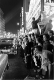 Fans Stargazing During Arrival of Celebrities  30th Academy Awards  Rko Pantages Theater  1958