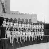 First Miss Universe Contest  Long Beach  CA  1952