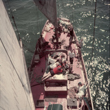 Teenagers Weekend Sailing  Seattle  Washington  1950