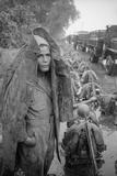Unidentified Troops Leaving Hanoi  Vietnam  1954