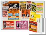 Collection of 1960's Odeon Concert Hall Bills  Including the Beach Boys  Duke Ellington  Ella