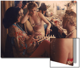 Showgirls Playing Chess Between Shows at Latin Quarter Nightclub Acrylique par Gordon Parks