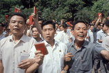 Chinese Youth Protesting Economic Conditions in Hong Kong  1967