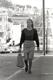 Unidentified Model in San Francisco  California  1960