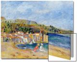 Le Lavandou Acrylique par Pierre-Auguste Renoir