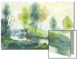 Country House and River