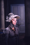 1965: Lyudmila Saveleva as Natasha Rostova Filming a Scene from the Film 'War and Peace'  Russia