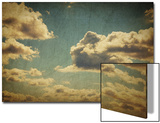 Vintage Sky With Clouds